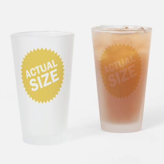 actualsize Drinking Glass