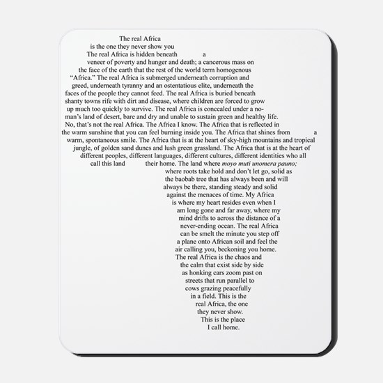 The Real Africa Mousepad