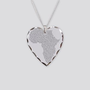 The Real Africa Necklace Heart Charm