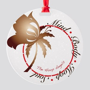 Mind Body Hoop Soul Round Ornament