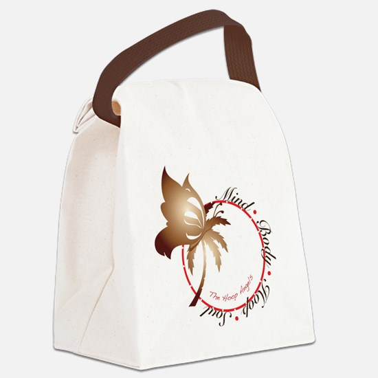 Mind Body Hoop Soul Canvas Lunch Bag