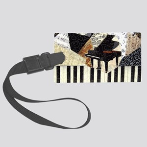 Piano-clutchbag Large Luggage Tag