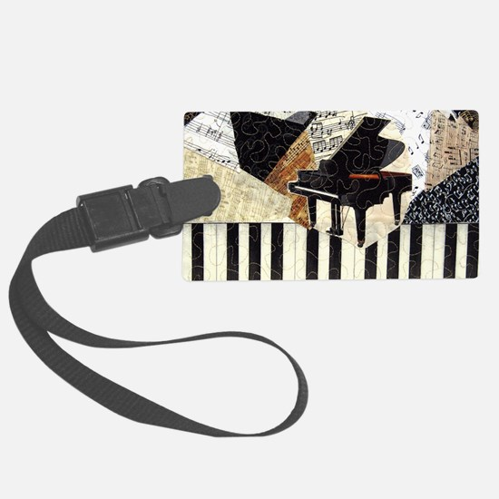 Piano-clutchbag Luggage Tag