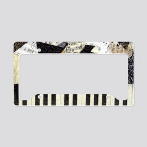Piano-clutchbag License Plate Holder