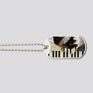 Piano-clutchbag Dog Tags