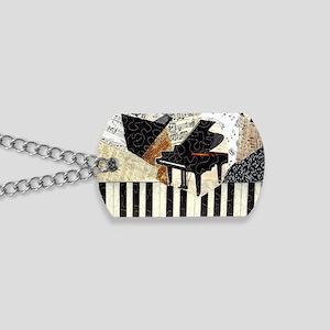 Piano-clutchbag Dog Tags