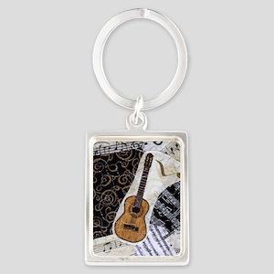 guitar-classical-ornament2 Portrait Keychain