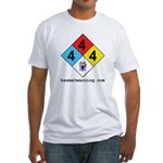 New Jersey State Flag Fitted T-Shirt