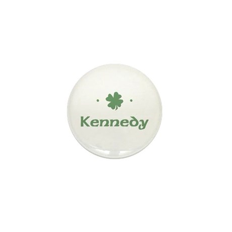 """Shamrock - Kennedy"" Mini Button"