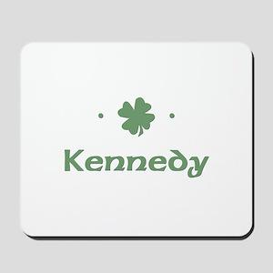 """Shamrock - Kennedy"" Mousepad"
