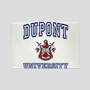 DUPONT University Rectangle Magnet
