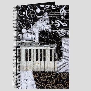 keyboard-sitting-cat-ornament Journal