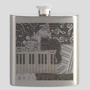 keyboard-sitting-cat-ornament Flask