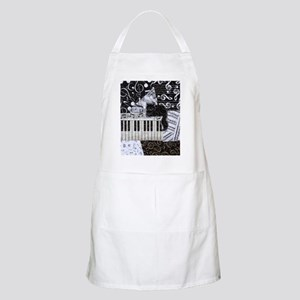 keyboard-sitting-cat-ornament Apron