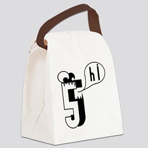 HI5 Monster Canvas Lunch Bag