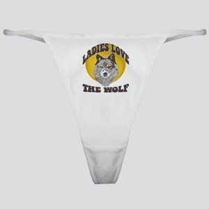 Ladies Love the Wolf Classic Thong