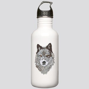 Wolf Big Stainless Water Bottle 1.0L