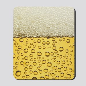 Beer Bubbles Mousepad