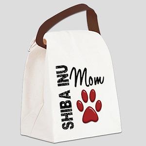 D Shiba Inu Mom 2 Canvas Lunch Bag