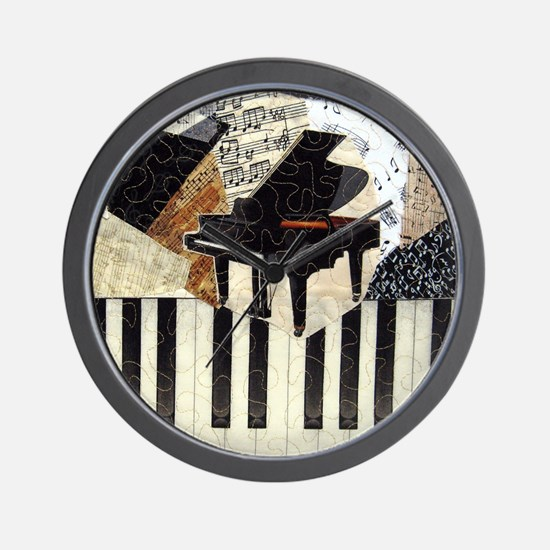 Piano9x8 Wall Clock