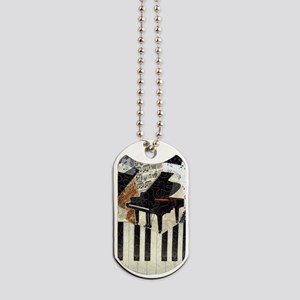 Piano9x7 Dog Tags