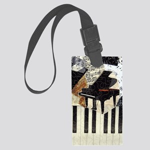 Piano9x7 Large Luggage Tag