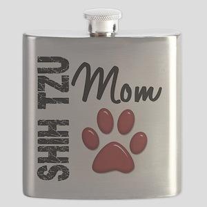 D Shih Tzu Mom 2 Flask