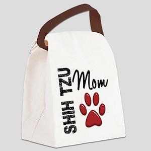 D Shih Tzu Mom 2 Canvas Lunch Bag