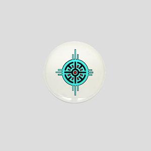 Medicine Wheel Mini Button