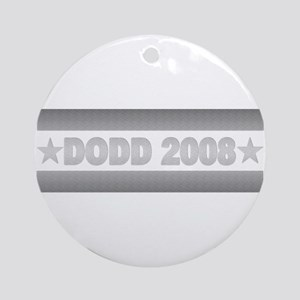 Christopher Dodd President 2008 Ornament (Round)