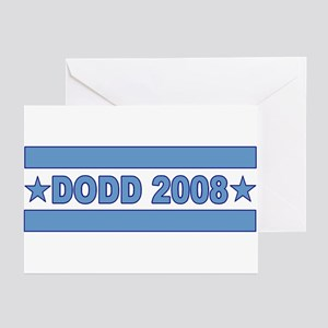Christopher Dodd President 2008 Greeting Cards (Pa