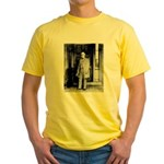 Lee protrait Yellow T-Shirt