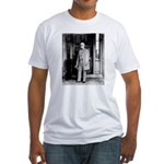 Lee protrait Fitted T-Shirt