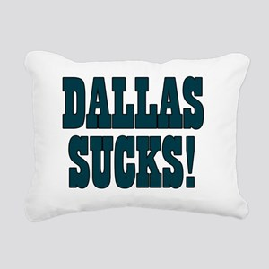 Dallas-Sucks-03 Rectangular Canvas Pillow