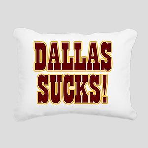 Dallas-Sucks-06 Rectangular Canvas Pillow
