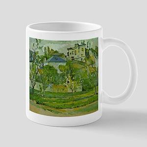Obstgarten in Pontoise - Paul Cezanne - c1877 11 o