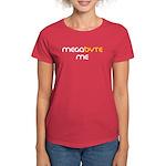Megabyte Me Women's Red T-Shirt