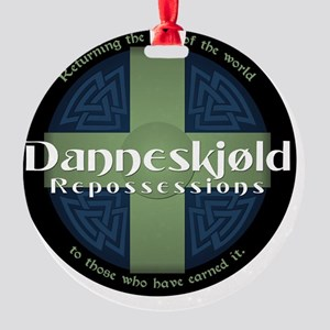 Danneskjold Repossessions Shield Round Ornament
