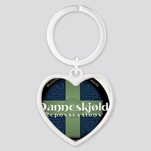 Danneskjold Repossessions Shield Heart Keychain