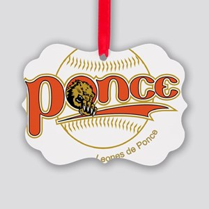 logo leones-baseball Picture Ornament