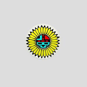 Indian Shield Mini Button