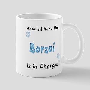 Borzoi Charge Mug