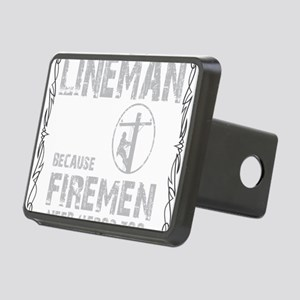 lineman because 1 Rectangular Hitch Cover