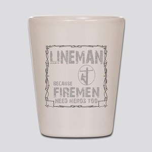 lineman because 1 Shot Glass