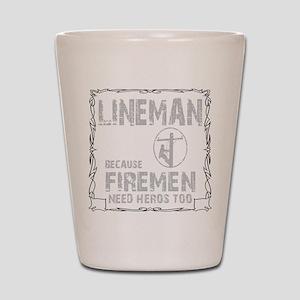 lineman because 1 Shot Glass