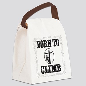 born to climb 1 Canvas Lunch Bag