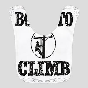 born to climb 1 Bib