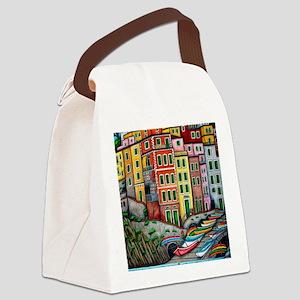 RiomaggioreProPicHS-AR Canvas Lunch Bag