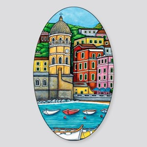 Vernazza-HSPropicAR Sticker (Oval)
