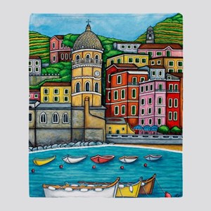 Vernazza-HSPropicAR Throw Blanket